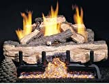 Peterson Gas Logs CHASG10-30-15 30in. Charred Aged Split Vent-Free Log Set Includes Variable Flame Remote Control Review