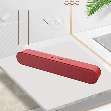 Altavoces Barra De Sonido De Cine En Casa Informáticos Boombox Altavoz Inalámbrico Barra De Sonido para TV Radio Caixa De Som Parlante para PC,C: Amazon.es: Hogar