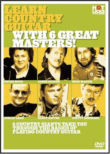 Learn Country Guitar with 6 Great Masters ()