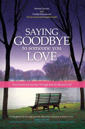 saying bye to someone you love