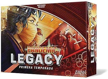 Z-man Games España- Pandemic Legacy Primeratemporada, Español ...