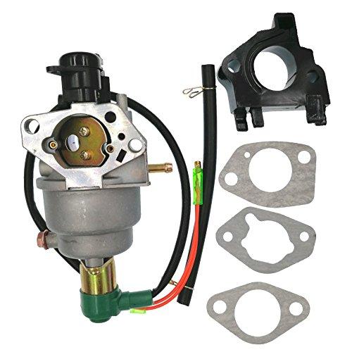 (Hestish Carburetor with Insulator Air Intake Gaskets For Generac Centurion GP5000 5944 0055770 005577-1 005578-0 Generators)