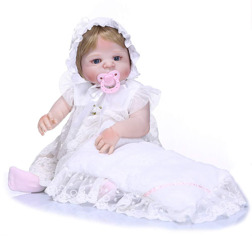 魅力的な Pinky クリスマス 23 インチ 57cm リアルな見た目のリボーンベビードール フルボディ ソフト人形 シリコン人形 誕生日ギフト 本物そっくり 新生児 リアルタッチ 新生児 女の子 人形 かわいい 幼児 クリスマス 誕生日ギフト B07GFCC79V, 墨田区:6bfd481a --- pmod.ru