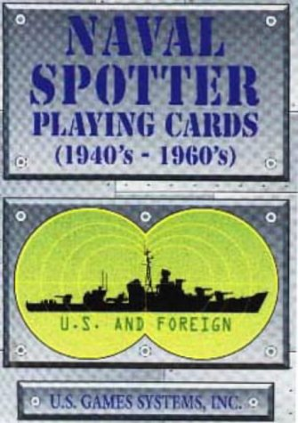 Naval Spotter Playing Cards 1940'S-1960's ()