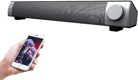 Barra De Sonido Altavoz PortáTil Cine En Casa Altavoces InaláMbricos Audio EstéReo para TV Pc Tablets Computadora TeléFonos Inteligentes: Amazon.es: Deportes y aire libre