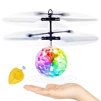 FLYing Mini Drone Ball Bola voladora RC Control fácil de Gestos ...