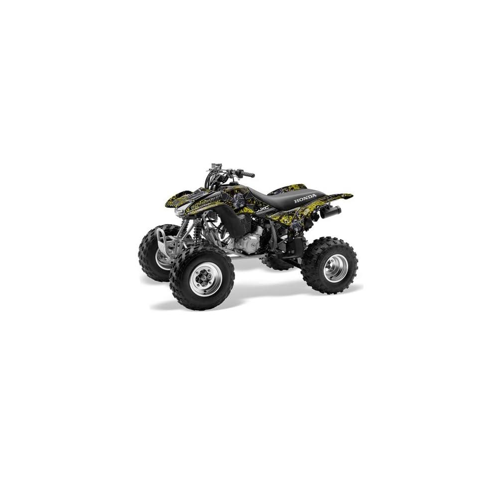 AMR Racing Honda TRX 400EX 1999 2007 ATV Quad Graphic Kit   Toxicity Black &
