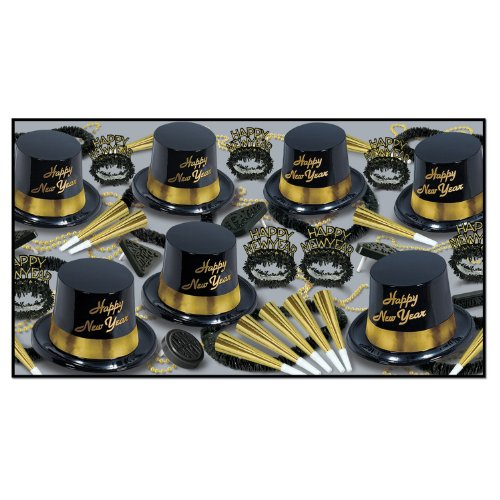 New Years Eve Hats Bulk - Gold Legacy Asst for 25 Party