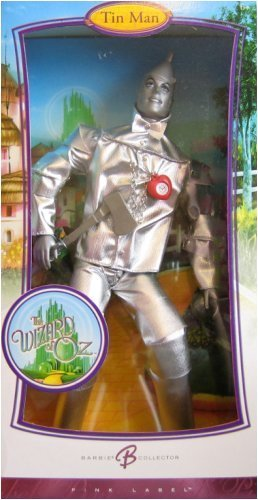 (Barbie Collector Pink Label Wizard Of Oz Tin Man)