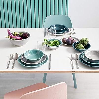 Thomas Trend Colours Colores Variados Platos hondos 22 cm, 2 Unidades