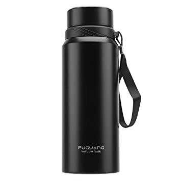 Amazon.com: FUGUANG Botella de agua de acero inoxidable ...