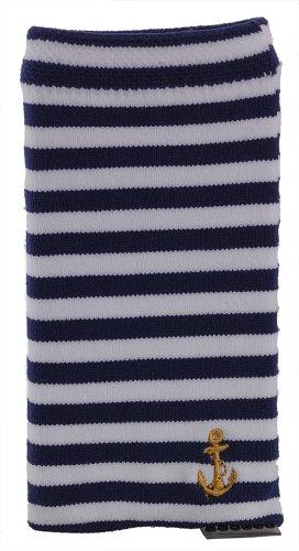 Trendz Universal Smartphone Socke Handysocke für iPhone, iPad und MP3 im Nautischen Design - Nautical