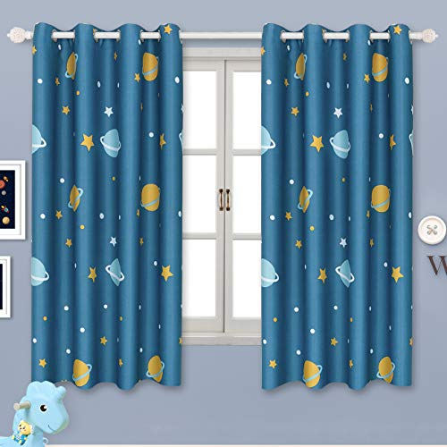 BGment Blackout Boy Curtains - Grommet Thermal Insulated Roo