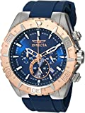 Invicta Men's 22523 Aviator Analog Display Quartz Blue Watch