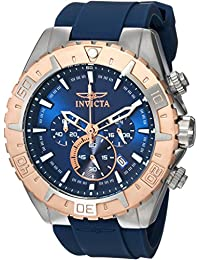 Invicta Men's 22523 Aviator Analog Display Quartz Blue Watch