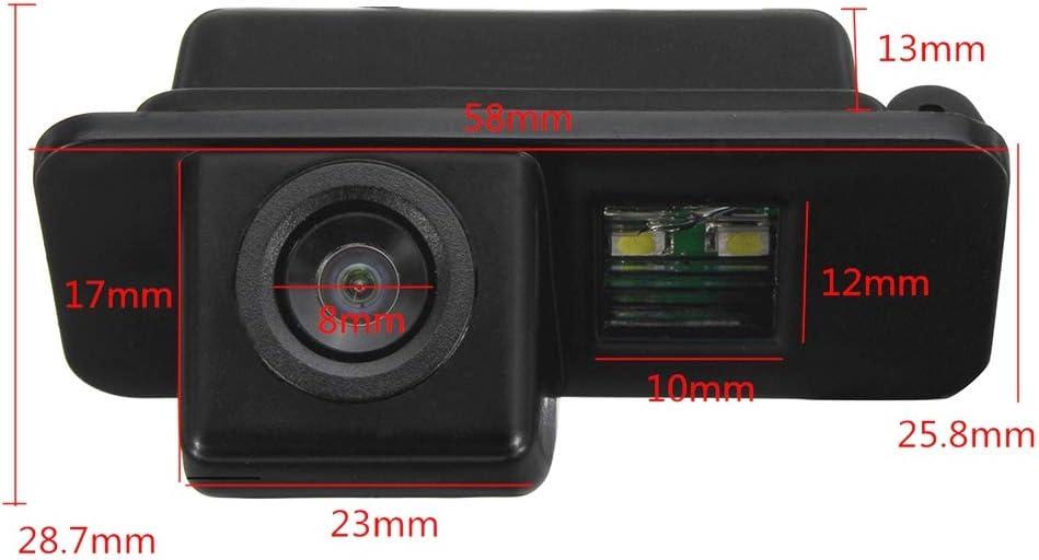 Waterproof Rear-View License Plate Car Rear Backup Parking Camera for Ford Ranger Explorer Fiesta//Kuga//S-Max C-Max//Mondeo//Focus 2 II Backup Camera for Car