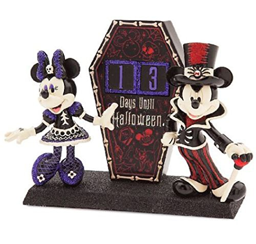 healthyhomepets Disney Parks Mickey & Minnie Figure Halloween Dress Up Countdown New 2017 in BOX ()