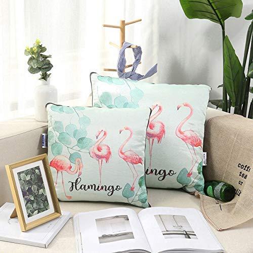 Respirable La almohada de seda 3D para hielo Flamingo de HOME es un sofá de dibujos animados. El aire acondicionado se hace...