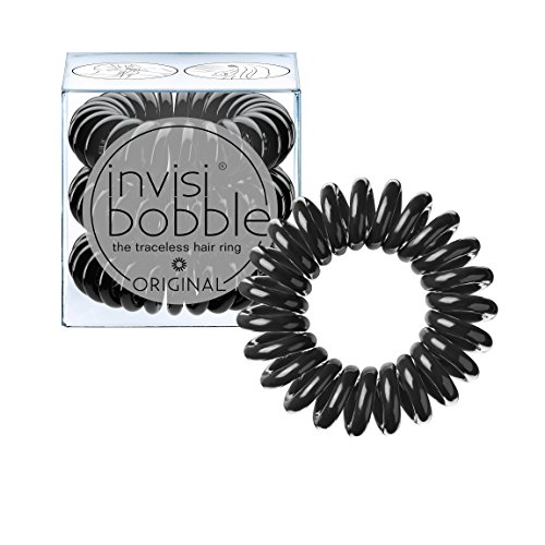 invisibobble Original Traceless Hair Ring, True Black