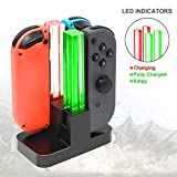 FastSnail Joy-Con Charging Dock Compatible with