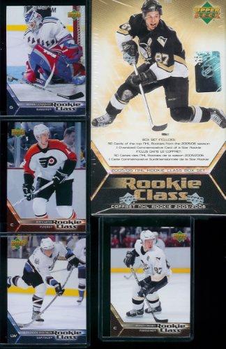 Upper Deck NHL Commemorative Box Set - 2005/06 NHL Rookie - Box Rookie Set