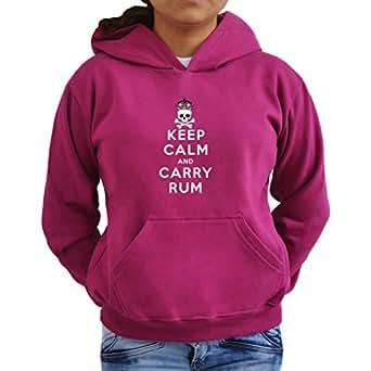 Keep calm and carry rum Women Hoodie