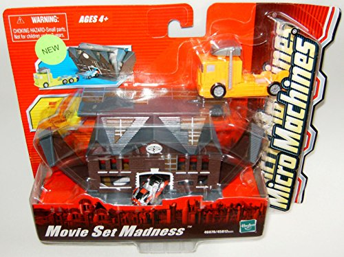 Micro Machines Movie Set Madness Playset