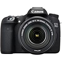 Canon EOS 70D Digital SLR Camera with 18-135mm STM Lens - International Version