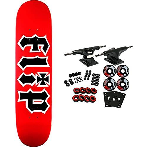 FLIP SKATEBOARDS HKD RED 7.5 Complete Skateboard