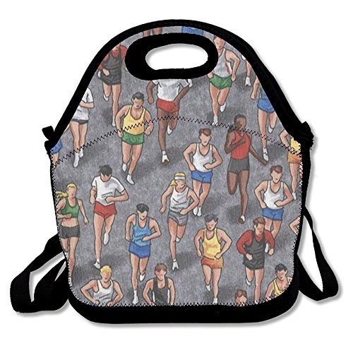 Marathon Pique - MIPU SHANGMAO Running Marathon Lunch Bag Insulation Picnic Bag Insulated Zipper Cooler Bag