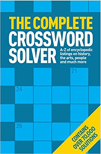 The Complete Crossword Solver Amazon Co Uk Steve Curtis 9781784043544 Books