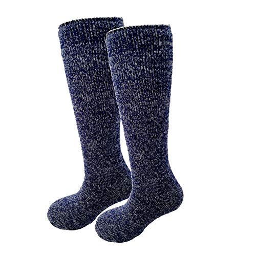 HIGHCAMP Winter Thermal Socks for Women Men Youth Warm Soft As Cashmere – HN Extra Long S/M