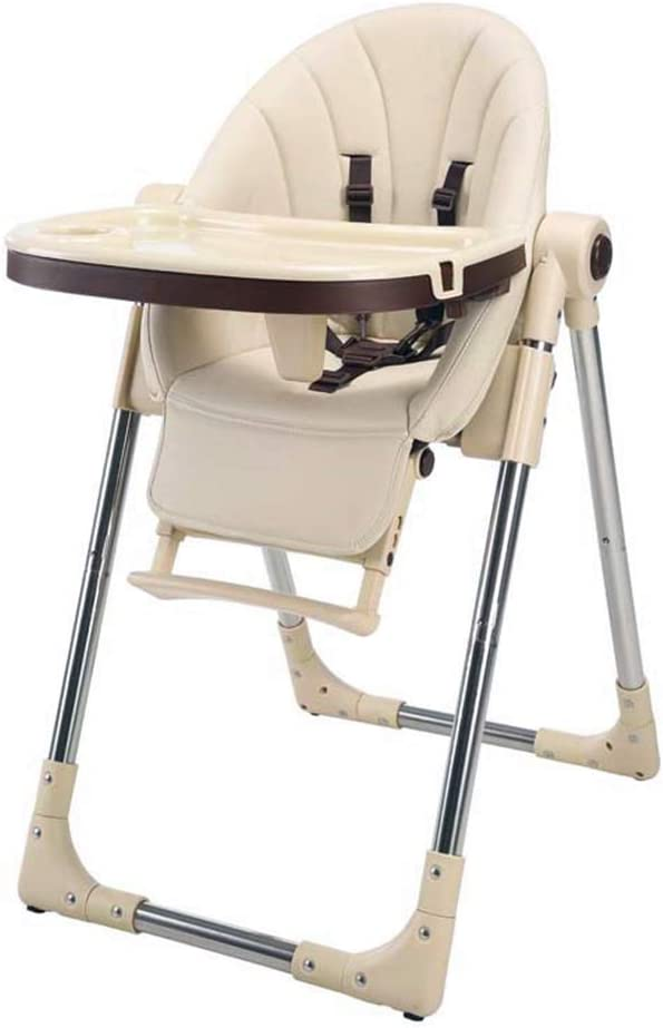 6月からの赤ちゃん幼児のための取り外し可能なトレイ調整ハイツと背もたれフットレスト快適なハイチェアアジャスタブル赤ちゃん人間工学,イエロー