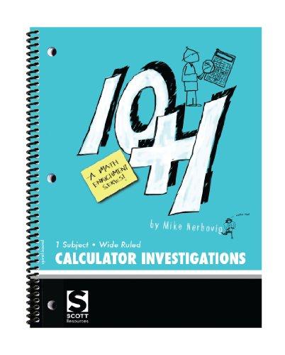 American Educational Ten Plus One A Math Enrichment Program Calculator Investigation Book (Calculator Math Investigations)
