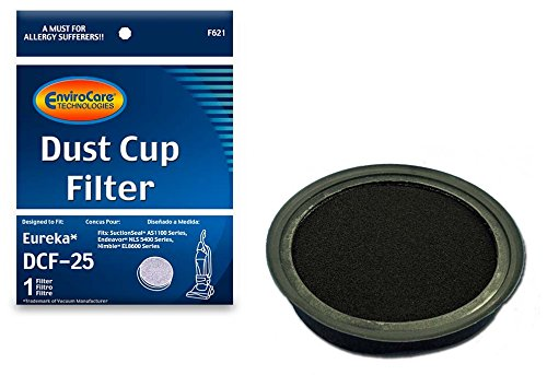 EnviroCare Replacement Dust Cup Filter for Eureka DCF-25 Uprights ()