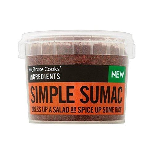 Cooks' Ingredients Sumac Waitrose 50g - Pack of 6