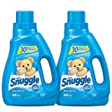 Snuggle Liquid Fabric Softener with Fresh Release, Blue Sparkle, 50 Fluid Ounces (Pack of 2)
