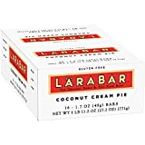 Lärabar Coconut Cream Pie Fruit & Nut Bars 16 ct Box (Pack of 4)
