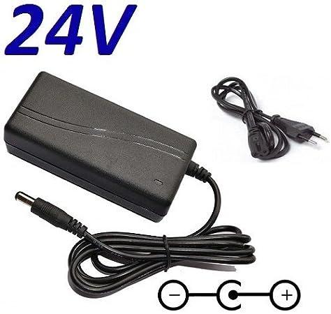 CARGADOR ESP ® Cargador Corriente 24V Compatible con Reemplazo Television Televisor TV LED LG 22LE3320 22LE3320-ZA Recambio Replacement: Amazon.es: Electrónica
