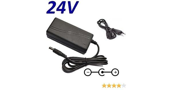 CARGADOR ESP ® Cargador Corriente 24V Reemplazo Television Televisor Model LG 42LN5200: Amazon.es: Electrónica