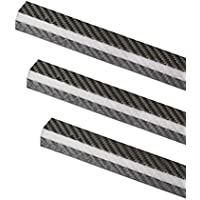 ZSJ 4pcs/pack New Octagonal 3K Roll Wrapped twill matte carbon fiber boom 20X30X600mm pure carbon fiber tube for Drone Multicopter