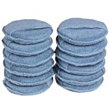 wax applicator pad - SPTA Car Microfiber Wax Applicator Pads with pocket Car Clean Cleaning For Car Pack of 10Pcs