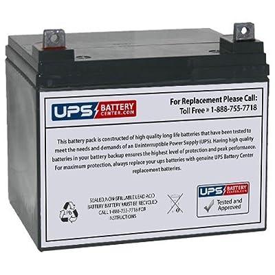 Jump N Carry JNC080 Jump Starter 12V 35Ah Jump Starter Replacement Battery