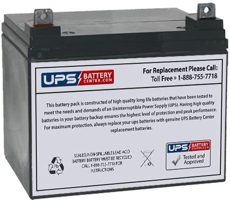 Fresh Stock Compatible Battery for Douglas DG12-32 by UPSBatteryCenter 12V 35Ah NB