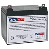 12V 35Ah NB - Replacement battery for Wilderness Tarpon 100 Kayak Trolling Motor by UPSBatteryCenter