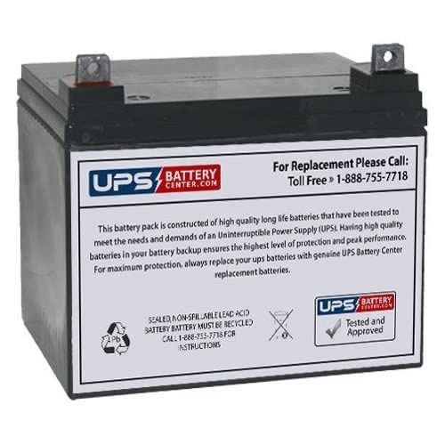 12V 35Ah NB - BB Battery BP33-12 Replacement Battery by UPSBatteryCenter