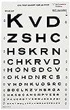 DUKAL 3062 Tech-Med Illuminated Eye Chart, Snellen, 10' Test Distance, 9'' Width, 14'' Length