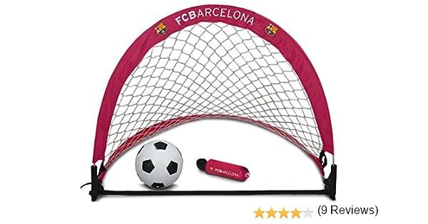 Barcelona FC Skill - Portería de fútbol, Color Rojo: Amazon.es: Deportes y aire libre