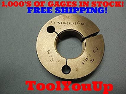 "GO Gauge 1-7//16/""-18 NEF-3 ring"