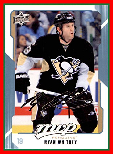 2008-09 Upper Deck MVP #235 Ryan Whitney PITTSBURGH PENGUINS ()